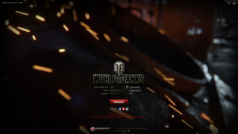 Cannot Log Into Server After World of Tanks 9 1 9 1 Update – Macriot